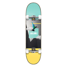 View the ALOIKI SKY COMPLETE SKATEBOARD - 7.6 from the Complete Skateboards clothing range online today from Boarderline