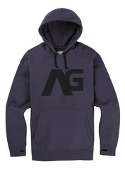 View the Analog Crux Hood - Greystone from the Fleece/Layering clothing range online today from Boarderline
