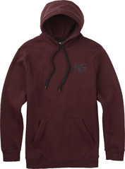 View the Analog Crux Hoodie - Deep Purple from the Fleece/Layering clothing range online today from Boarderline