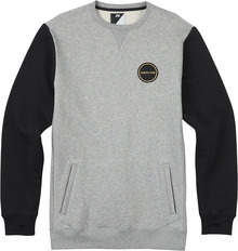 View the Analog Enclave Crew - Grey Heather from the Fleece/Layering clothing range online today from Boarderline