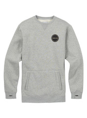 View the Analog Enclave Crew - Heather Grey from the Fleece/Layering clothing range online today from Boarderline