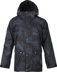View the Analog Lenox Jacket - Palms Black from the Mens Snowboard Jackets clothing range online today from Boarderline