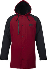 View the Analog Stadium Parka - Blood/Black from the Mens Snowboard Jackets clothing range online today from Boarderline