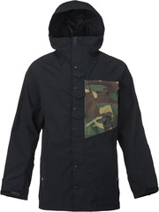 View the Analog Zenith Jacket - True Black/Surplus Camo from the Mens Snowboard Jackets clothing range online today from Boarderline