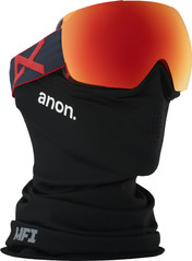 View the Ano Mig MFI Goggles - Red Eye/Sonar Red from the Mens clothing range online today from Boarderline