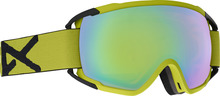 View the Anon Circuit Goggles - Yellow/Sonar Green from the Mens clothing range online today from Boarderline