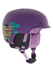 View the Anon Flash Kids Helmet - Baloonz purple from the Kids clothing range online today from Boarderline