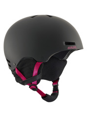 View the Anon Greta Womens Helmet - Black Cherry from the Women clothing range online today from Boarderline