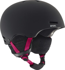 View the Anon Greta Womens Helmet - Black/Pink from the Women clothing range online today from Boarderline
