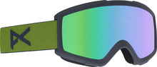View the Anon Helix 2.0 Goggles - Forest Green/Green Solex from the Mens clothing range online today from Boarderline