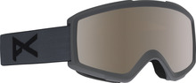 View the Anon Helix 2.0 Goggles - Stealth/Silver Amber from the Mens clothing range online today from Boarderline