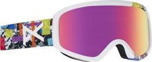 View the Anon Insight Goggles - Bouquet/Pink Sq from the Womens clothing range online today from Boarderline