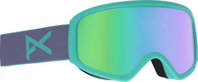 View the Anon Insight Goggles - Gala Purple/Green Solex from the Womens clothing range online today from Boarderline