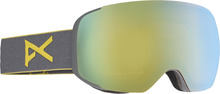 View the Anon M2 Goggle - Grey/Gold Chrome from the Mens clothing range online today from Boarderline