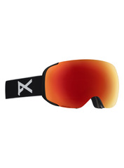 View the Anon M2 Goggles - Black/Sonar Red from the Mens clothing range online today from Boarderline