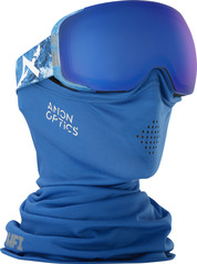 View the Anon M2 MFI Goggles - Hiker Blue/Sonar Blue from the Mens clothing range online today from Boarderline