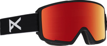 View the Anon M3 Goggles - Black/Red Solex from the Mens clothing range online today from Boarderline