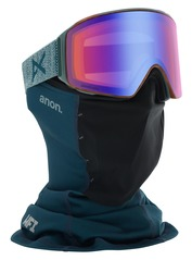 View the Anon M4 Cylindrical Sonar Goggles - Layback  from the Mens clothing range online today from Boarderline