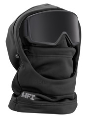 View the Anon MFI Hooded Balaclava - Black from the Neckwarmers & Face Masks clothing range online today from Boarderline