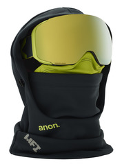 View the Anon MFI Hooded Balaclava - Grey from the Neckwarmers & Face Masks clothing range online today from Boarderline