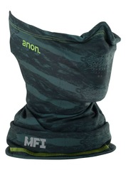 View the Anon MFI Lightweight Neck Warmer - Deer mountain green from the Neckwarmers & Face Masks clothing range online today from Boarderline