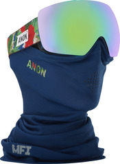 View the Anon Mig MFI Goggles - MPI/Sonar Green from the Mens clothing range online today from Boarderline
