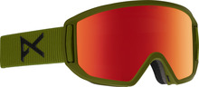 View the Anon Relapse Goggles - Bear Green/Red Solex from the Mens clothing range online today from Boarderline