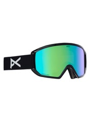 View the Anon Relapse Goggles - Black/Sonar Green from the Mens clothing range online today from Boarderline