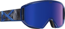 View the Anon Relapse Goggle - Supernova/Blue Cobalt from the Mens clothing range online today from Boarderline