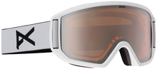 View the Anon Relapse Goggle - White/Silver Amber from the Mens clothing range online today from Boarderline