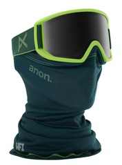 View the Anon Relapse MFI Goggles - Green/Sonar Smoke from the Mens clothing range online today from Boarderline