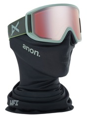 View the Anon Relapse MFI Goggles - Grey/Sonar Silver from the Mens clothing range online today from Boarderline