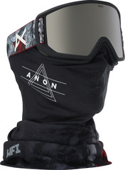 View the Anon Relapse MFI Goggles - Red Planet/Silver Solex from the Mens clothing range online today from Boarderline