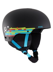 View the Anon Rime 3 Kids Helmet - Hurrrl Black from the Kids clothing range online today from Boarderline