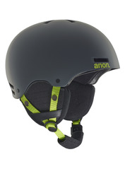 View the Anon Rime Kids Helmet - Grey from the Kids clothing range online today from Boarderline