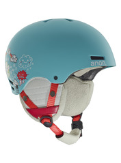 View the Anon Rime Kids Helmet - Hi5 Blue from the Kids clothing range online today from Boarderline