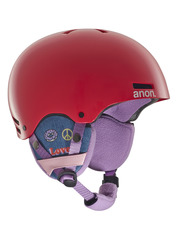 View the Anon Rime Kids Helmet - Power Red from the Kids clothing range online today from Boarderline