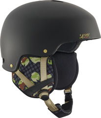 View the Anon Striker Helmet - Circle Camo Black from the Men clothing range online today from Boarderline