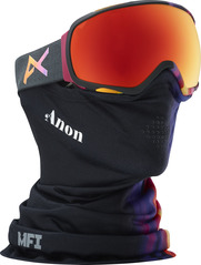 View the Anon Tempest MFI Goggles - Aura Black/Red Solex from the Womens clothing range online today from Boarderline