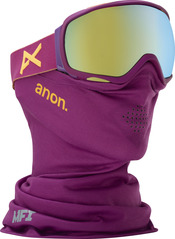 View the Anon Tempest MFI Goggles - Purple/Gold Chrome from the Womens clothing range online today from Boarderline