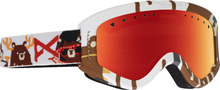 View the Anon Tracker Goggles - Dabearz/Red Amber from the Kids clothing range online today from Boarderline