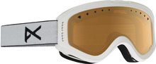 View the Anon Tracker Goggle - White/Amber from the Kids clothing range online today from Boarderline