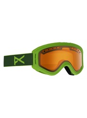 View the Anon Tracker Kids Goggles - Green/Amber from the Kids clothing range online today from Boarderline