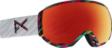 View the Anon WM1 Goggles - Disco Tiger/Red Solex from the Womens clothing range online today from Boarderline