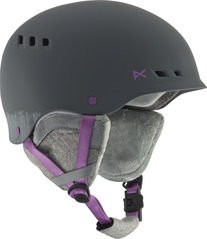 View the Anon Wren Womens Helmet - Tribe Grey from the Women clothing range online today from Boarderline