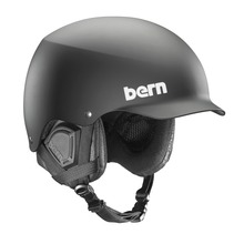 View the Bern Baker Helmet - Matt Black from the Men clothing range online today from Boarderline
