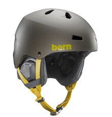 View the Bern Macon Helmet - Matt Charcoal from the Men clothing range online today from Boarderline