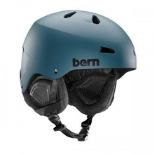 View the Bern Macon Helmet - Muted Teal from the Men clothing range online today from Boarderline