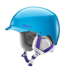 View the Bern Muse Womens Helmet - Satin Ocean Blue from the Women clothing range online today from Boarderline