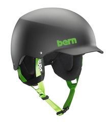 View the Bern Team Baker Helmet - Matt Black from the Men clothing range online today from Boarderline